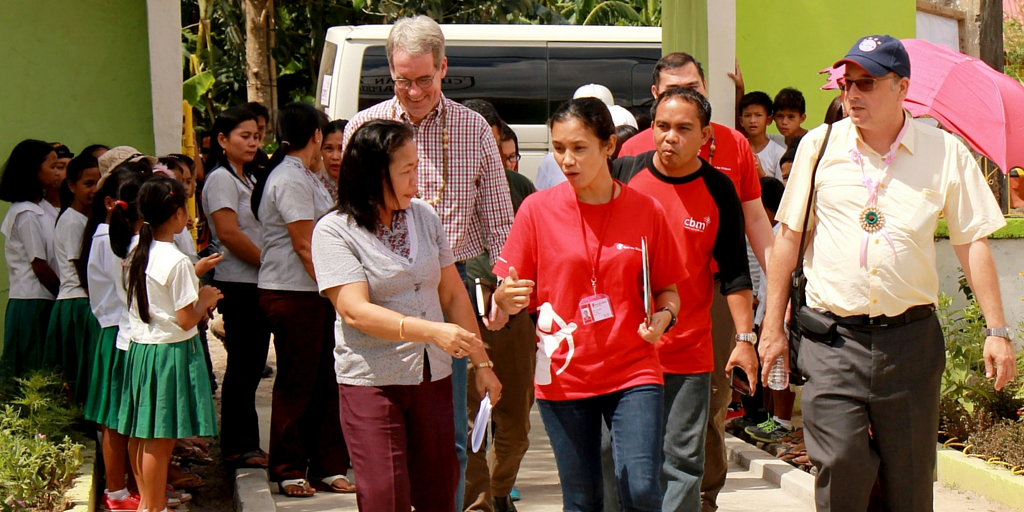 CBM Directors visit children in Leyte
