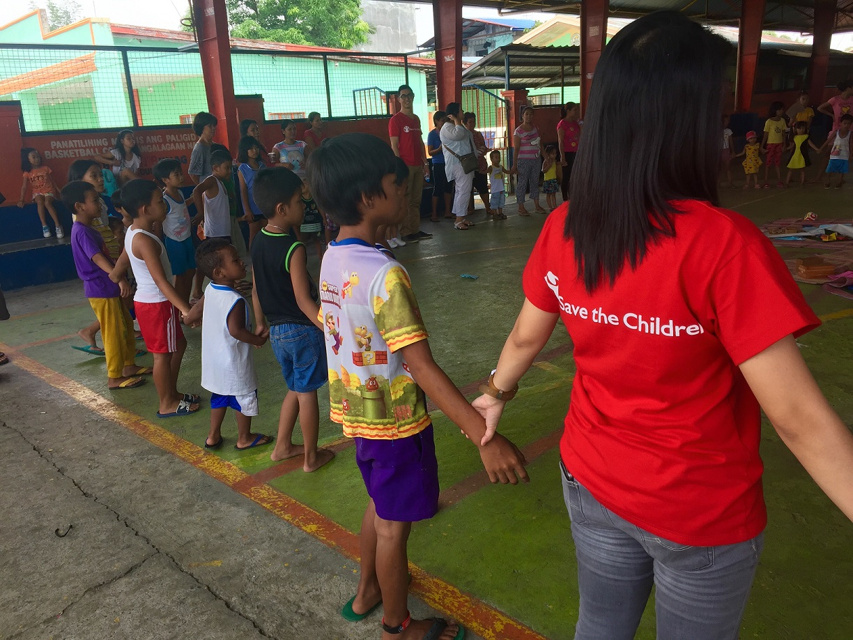 Joining hands for children