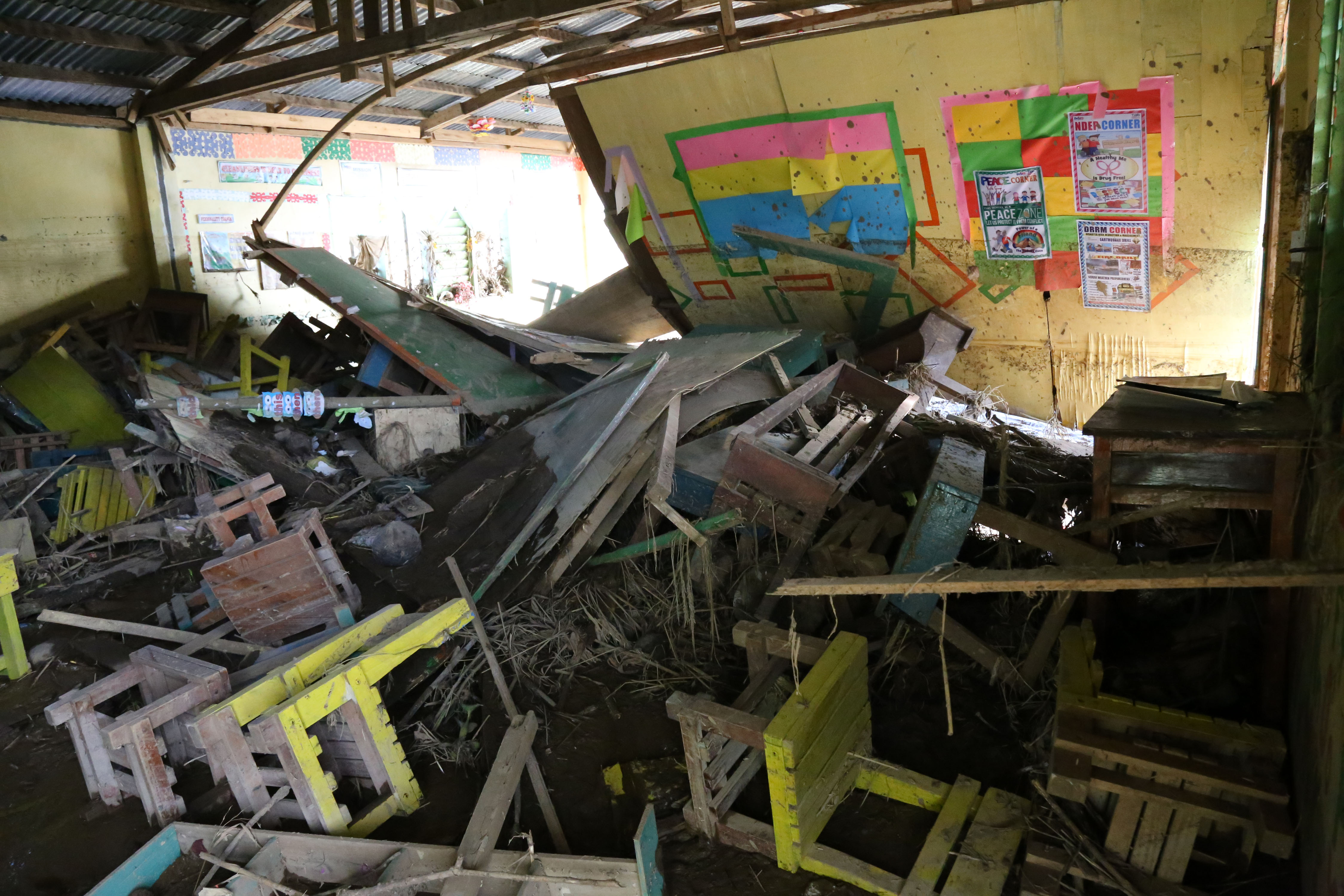 Lost my school in Marawi, and again due to Vinta