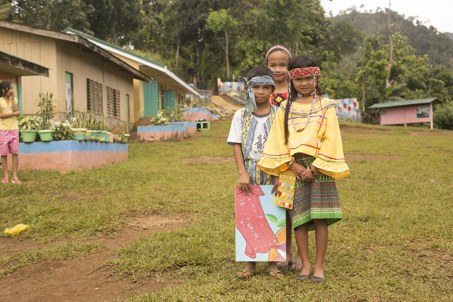 'Language is our only difference' – Manobo girl to other kids