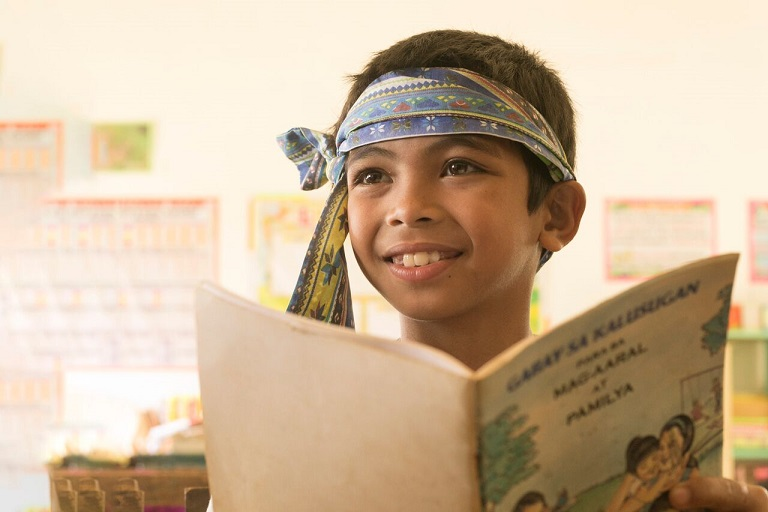 Manobo boy wishes for a library
