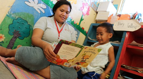 Nurture love for reading in children