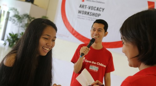 WATCH: Creating child advocates through art