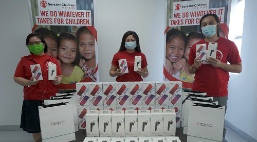 OPPO donates mobile phones to support Project ARAL