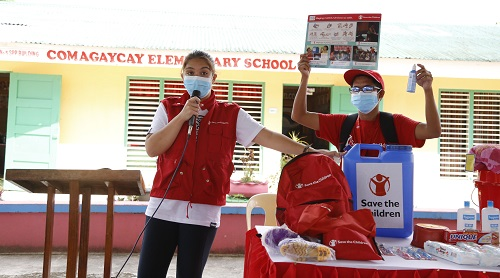 Ria Atayde, Save the Children aid 3,300 typhoon-stricken households in Catanduanes