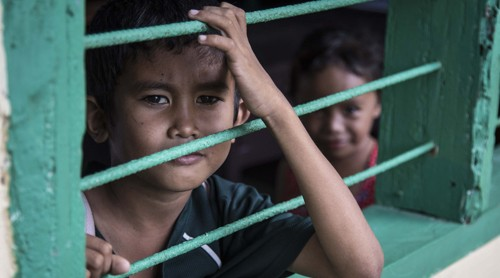 WATCH: Not all Filipino children are inside the classroom