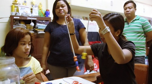 WATCH: A girl's love for math, sign language, and learning