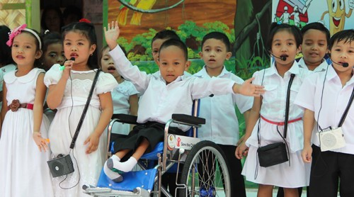 WATCH: Children with disability are just like any other child
